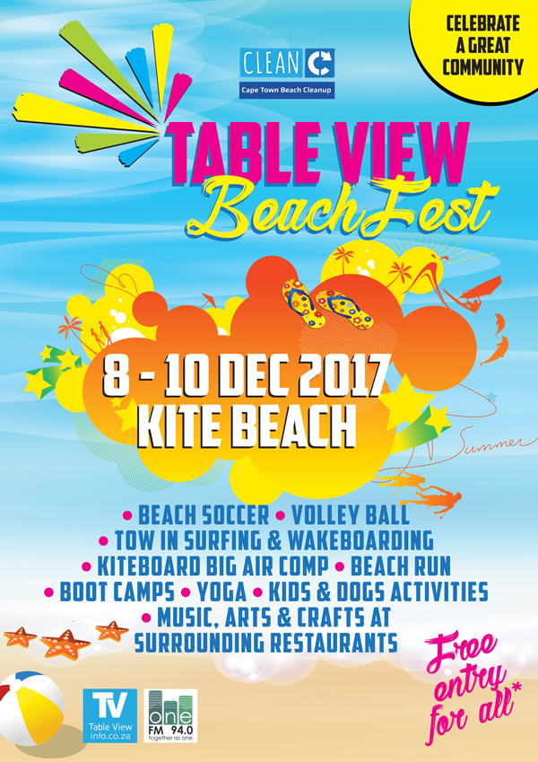 Table View Beach Fest | 8 - 10 December 2017