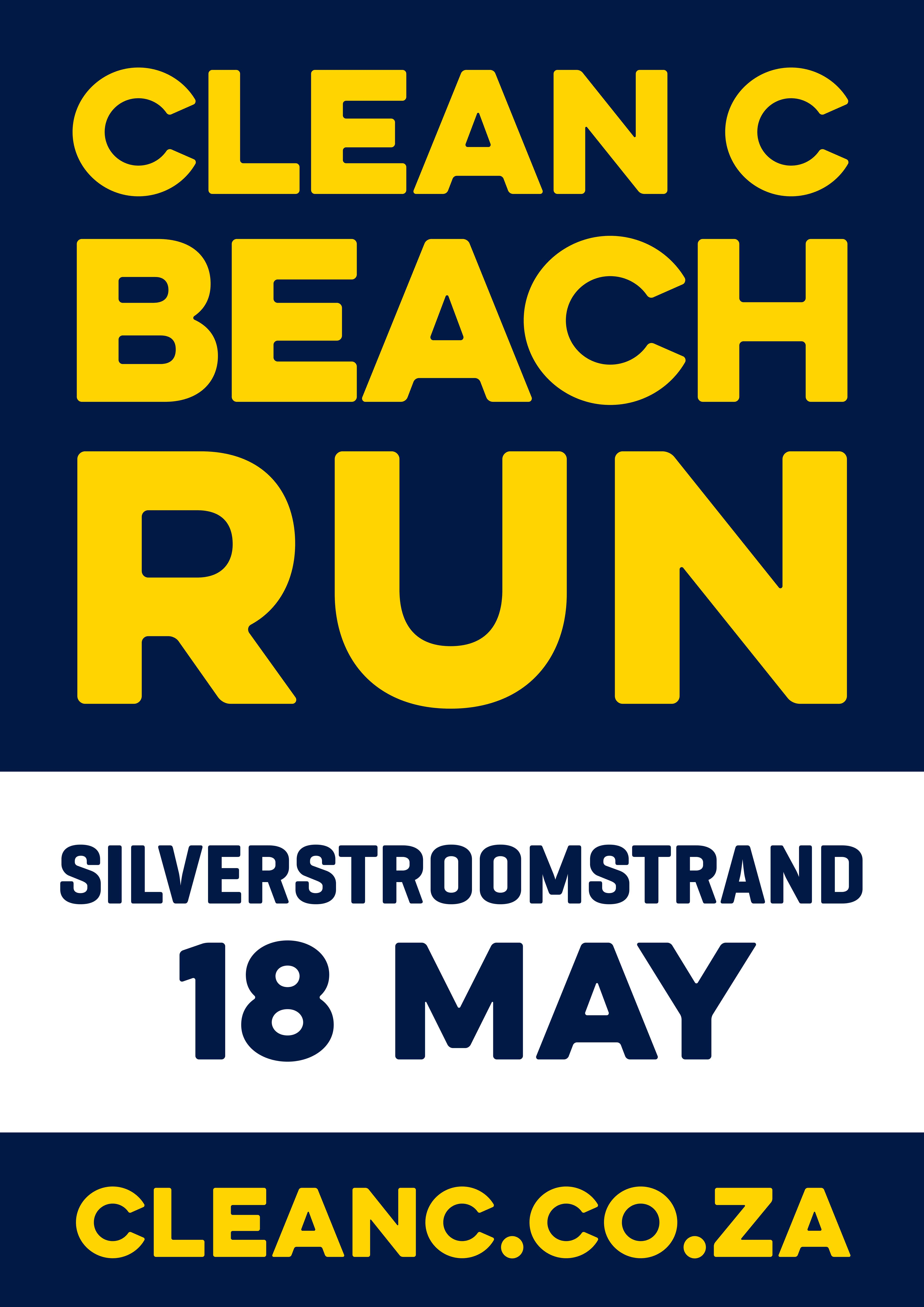 Plastic Free Oceans Beach Run Series - Blue Flag Silverstroomstrand