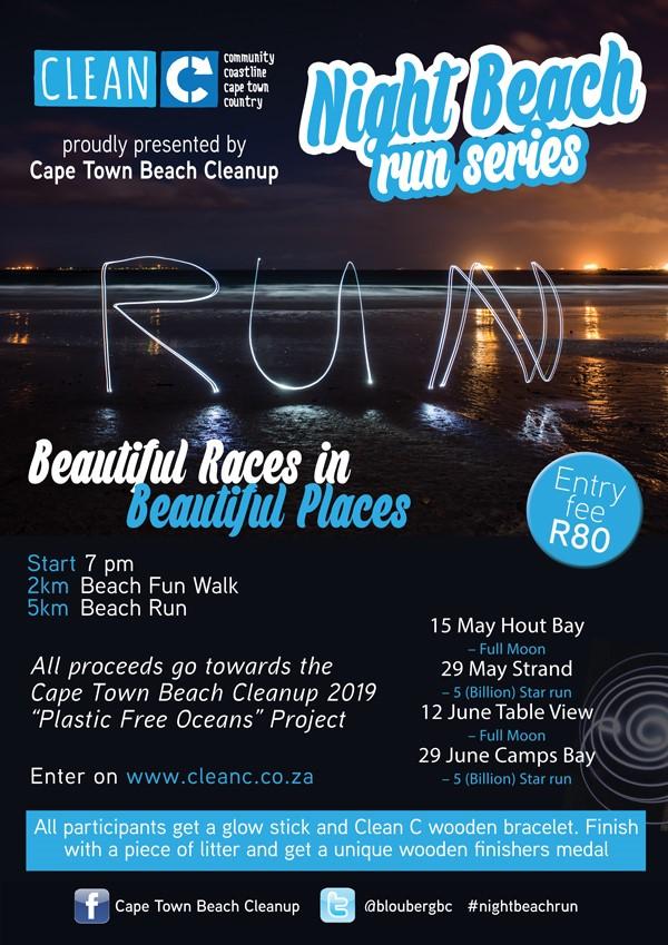 Cape Town Night Beach Run Series | Hout Bay