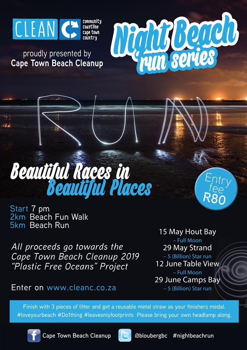 Cape Town Night Beach Run Series | Strand