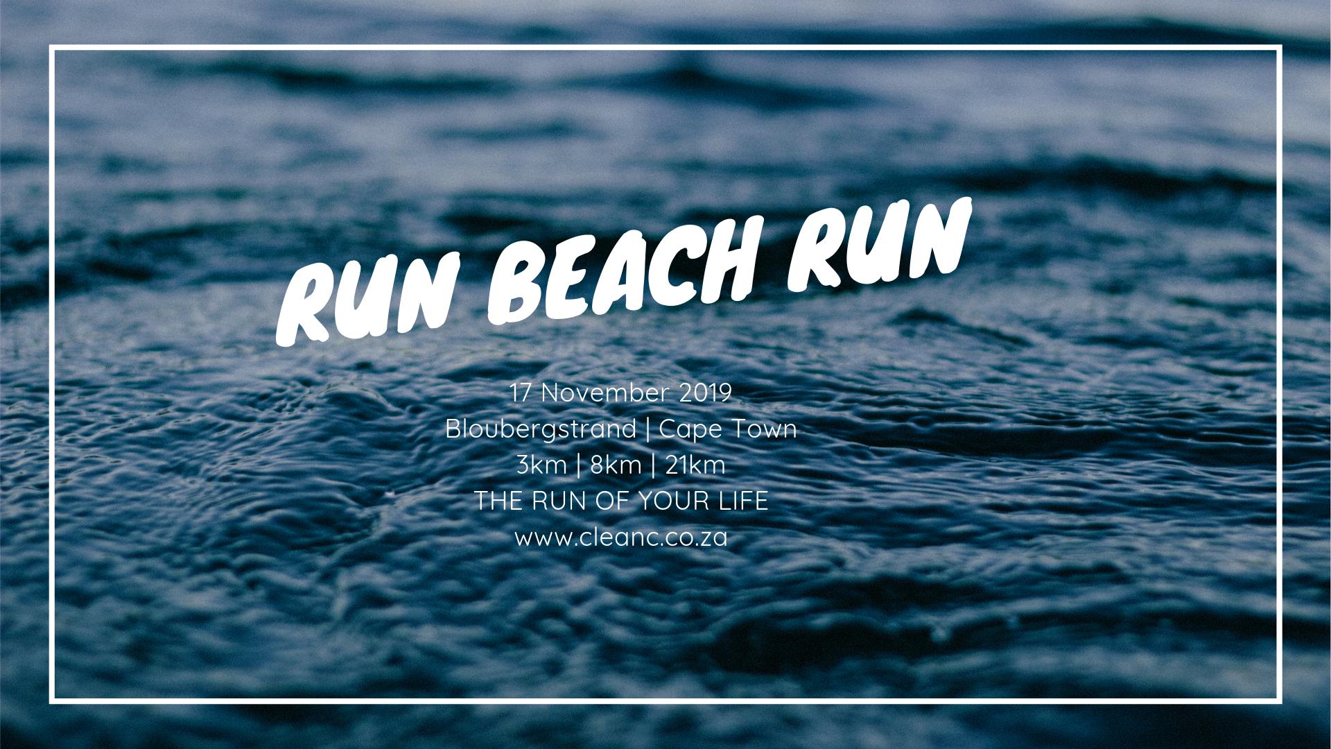 The Most Beautiful Beach Run in the World | Blouberg | 17 Nov